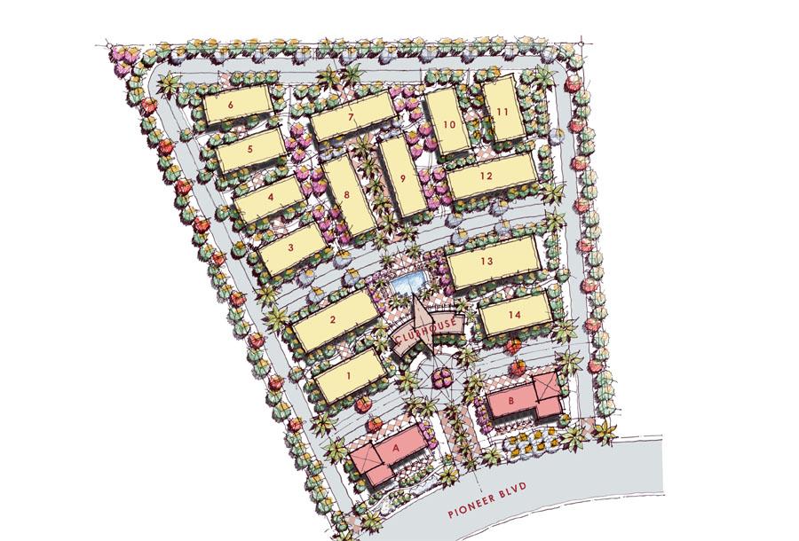 Mesquite2 Apartments Site Plans