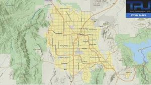 Commercial Construction Map of Las Vegas
